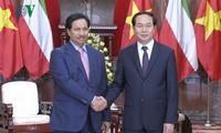 Chủ tịch nước Trần Đại Quang tiếp Thủ tướng Nhà nước Kuwait Sheikh Jaber Mubarak Al-Hamad Al-Sabad