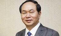 Chủ tịch nước Trần Đại Quang và Phu nhân đi thăm cấp Nhà nước tới Brunei Darussalam