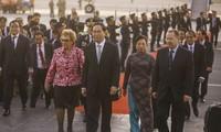 Chủ tịch nước Trần Đại Quang bắt đầu chuyến tham dự APEC 2016