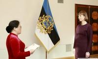 Đại sứ Phạm Thị Ngọc Bích trình Thư ủy nhiệm lên Tổng thống Cộng hòa Estonia