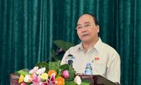 Thủ tướng Nguyễn Xuân Phúc tiếp xúc cử tri Quận Đồ Sơn, Hải Phòng