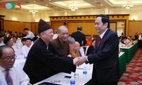 Ông Trần Thanh Mẫn được hiệp thương cử giữ chức vụ Chủ tịch Ủy ban Trung ương MTTQ Việt Nam khóa VII
