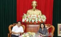 Phó Chủ tịch nước Đặng Thị Ngọc Thịnh làm việc với Thường trực Ban Chỉ đạo Tây Nam bộ