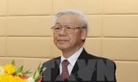 Tổng Bí thư Nguyễn Phú Trọng lên đường thăm chính thức Indonesia và Myanmar