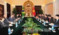 Hội đàm Bộ trưởng Ngoại giao hai nước Việt Nam và Brazil