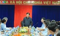 Phó Thủ tướng Trịnh Đình Dũng làm việc tại Công ty Lọc hóa dầu Bình Sơn