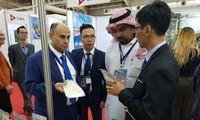 Hàng Việt Nam thu hút sự quan tâm tại Hội chợ FIA 2018 ở Algeria