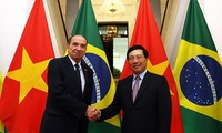 Bộ trưởng Ngoại giao Brazil Aloysio Nunes Ferreira thăm chính thức Việt Nam