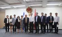 Bí thư Thành ủy Thành phố Hồ Chí Minh Nguyễn Thiện Nhân thăm Đại sứ quán Việt Nam tại Israel