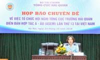 Việt Nam đăng cai Hội nghị Tổng cục trưởng Hải quan ASEM lần thứ 13
