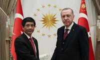 Đại sứ Trần Quang Tuyến trình Ủy nhiệm thư lên Tổng thống Thổ Nhĩ Kỳ