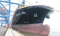 Cảng Container quốc tế Hải Phòng đón tàu 132 nghìn tấn xuyên Thái Bình Dương