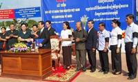 Truy điệu và an táng hài cốt liệt sỹ, quân tình nguyện Việt Nam hy sinh tại chiến trường Campuchia