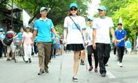 """Hàng nghìn người tham gia """"Đi bộ vì sức khỏe"""""""