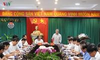Thường trực Ban Bí Thư Trung ương Đảng Trần Quốc Vượng thăm và làm việc tại tỉnh Đắk Nông