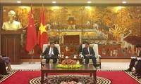 Hà Nội thúc đẩy quan hệ hợp tác với tỉnh Quảng Đông, Trung Quốc