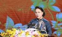 Chủ tịch Quốc hội Nguyễn Thị Kim Ngân dự Lễ kỷ niệm 130 năm Ngày sinh cụ Bùi Bằng Đoàn, nguyên Chủ tịch Quốc hội VN