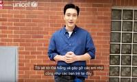 Nghệ sỹ Hàn Quốc tham gia chiến dịch chấm dứt bạo lực trẻ em của UNICEF ở Việt Nam