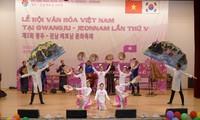 Lễ hội văn hóa Việt Nam tại Gwangju – Jeonnam đậm đà bản sắc dân tộc