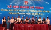 Hà Nội ghi danh sổ vàng 86 thủ khoa xuất sắc năm 2019
