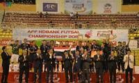 Đội tuyển Thái Lan giành chức vô địch giải Futsal HDBank Đông Nam Á 2019
