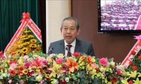 Phó Thủ tướng Thường trực Chính phủ Trương Hòa Bình dự Đại hội đại biểu các dân tộc thiểu số tỉnh Gia Lai