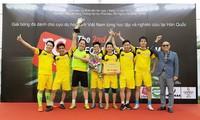 Cựu du học sinh Việt Nam tại Hàn Quốc tranh tài tại giải ICFOOD Cup Việt Nam