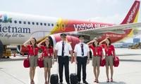 Chuyến bay thẳng Hà Nội-New Delhi đầu tiên của Vietjet Air
