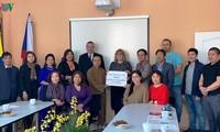 Người Việt tại Cộng hòa Czech quyên góp ủng hộ cho các nạn nhân và trung tâm bảo trợ người khuyết tật Vejprty