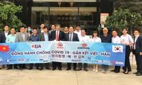 Đồng hành chống dịch Covid-19- gắn kết hai nước Việt - Hàn