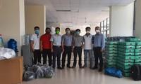 VKEIA quyên góp hỗ trợ y, bác sĩ, tình nguyện viên làm việc ở khu cách ly do đại dịch Covid -19