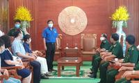 VKEIA hỗ trợ lực lượng tuyến đầu chống dịch tại vùng biên giới tỉnh Tây Ninh