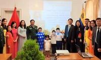 Đại sứ quán Việt Nam tại Venezuela kỷ niệm 45 năm Ngày giải phóng miền Nam, thống nhất đất nước