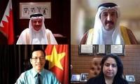 Việt Nam trình bản sao Thư ủy nhiệm lên Bộ trưởng Ngoại giao Vương Quốc Bahrain