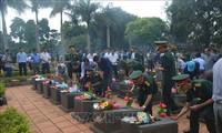 Tỉnh Gia Lai truy điệu và an táng 16 hài cốt liệt sĩ hy sinh tại Campuchia