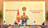 Phiên họp thứ 45 (đợt 2) của Ủy ban Thường vụ Quốc hội dự kiến diễn ra trong ngày 01/06