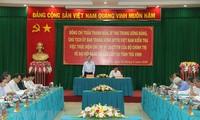 Ông Trần Thanh Mẫn làm việc với Ban Thường vụ Tỉnh ủy Trà Vinh
