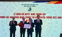 Thành lập Trường Đại học Công nghệ thông tin và Truyền thông Việt – Hàn thuộc Đại học Đà Nẵng