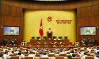 Quốc hội thảo luận dự án Luật Người lao động Việt Nam đi làm việc ở nước ngoài theo hợp đồng (sửa đổi)