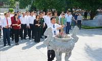 Dâng hương tưởng niệm 108 năm Ngày sinh Tổng Bí thư Nguyễn Văn Cừ