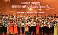 Thành phố Hồ Chí Minh tuyên dương điển hình công nhân, lao động