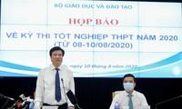 Kỳ thi tốt nghiệp THPT đảm bảo an toàn sức khỏe người tham gia và an toàn quy chế thi