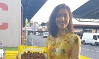 Nhãn tươi Việt Nam được thị trường Australia ưa chuộng