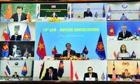 ASEAN - Trung Quốc tham vấn trực tuyến về hợp tác kinh tế