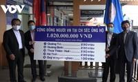 Người Việt Nam ở nước ngoài hướng về đồng bào miền Trung