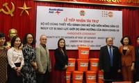UNFPA hỗ trợ phụ nữ có nguy cơ bị bạo lực bộ đồ dùng cứu trợ khẩn cấp