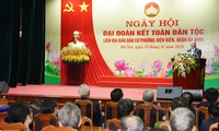 Thủ tướng dự Ngày hội Đại đoàn kết toàn dân tộc tại Hà Nội