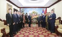 Tiếp tục hợp tác chặt chẽ, vun đắp, phát triển mối quan hệ hữu nghị Việt Nam - Lào