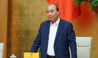 Thủ tướng Nguyễn Xuân Phúc chủ trì cuộc họp về công tác chuẩn bị cho Đại hội Thi đua yêu nước toàn quốc lần thứ X