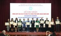 Năm 2020, các tổ chức phi Chính phủ nước ngoài viện trợ cho Việt Nam 250 triệu USD